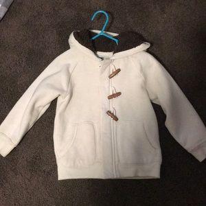 Toddler boy 3t cream cardigan